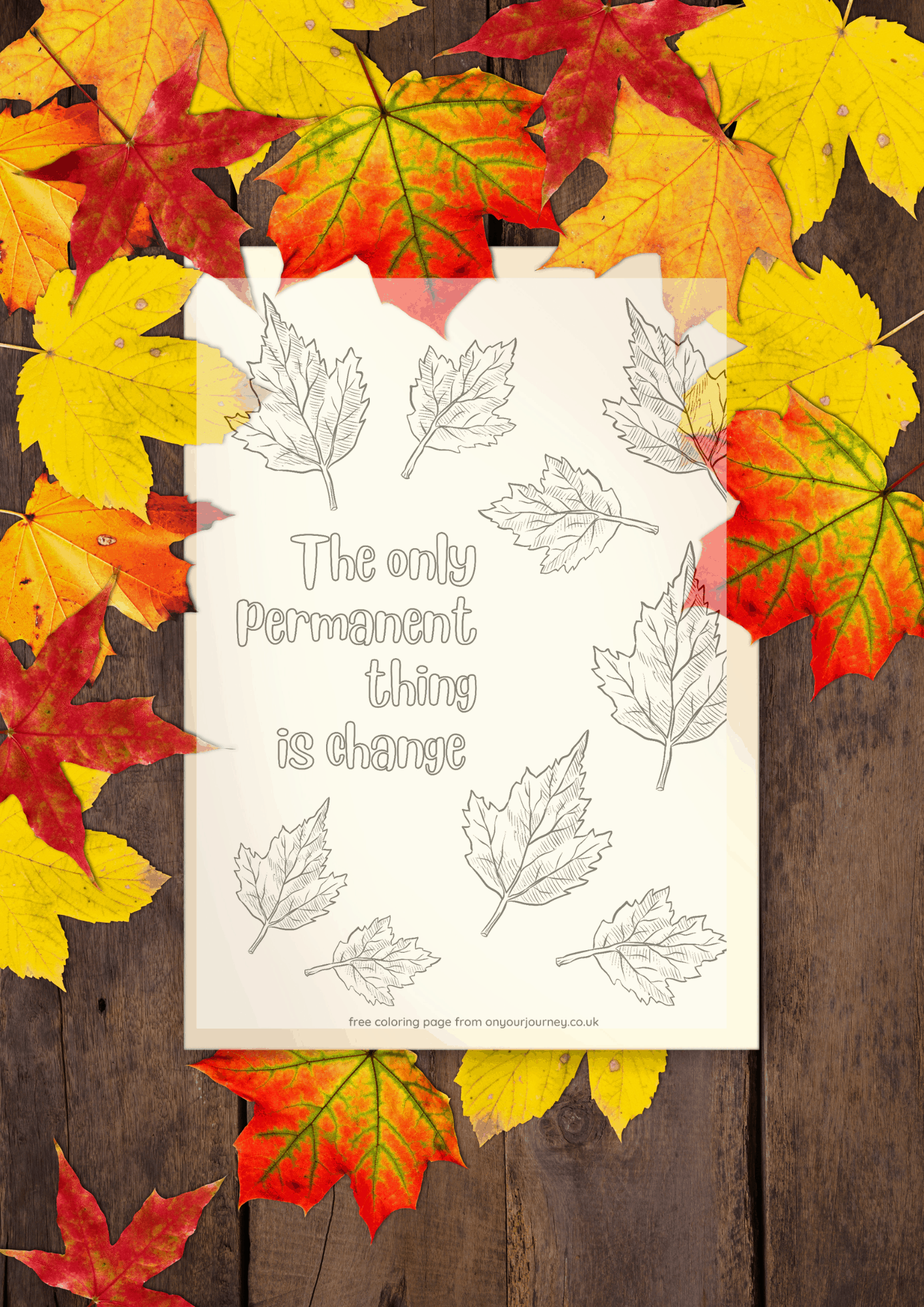 the only permanent thing is change free printable quotes coloring pages